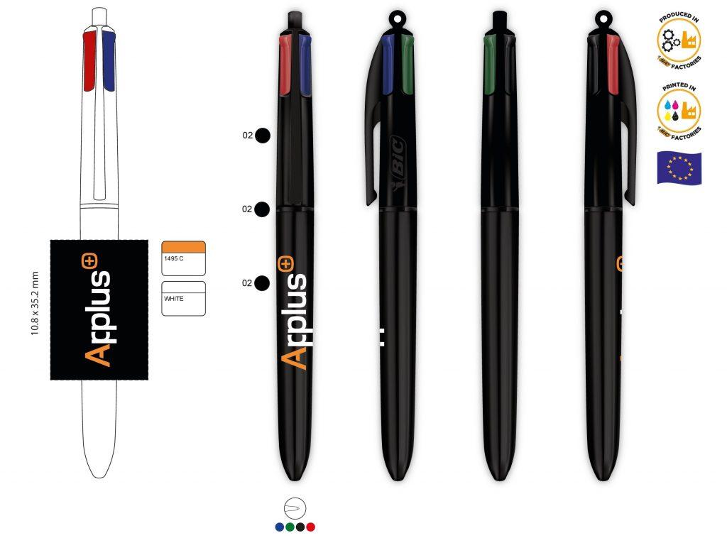 Bolígrafo corporativo de empresa y con personalización directa para regalo de empresa