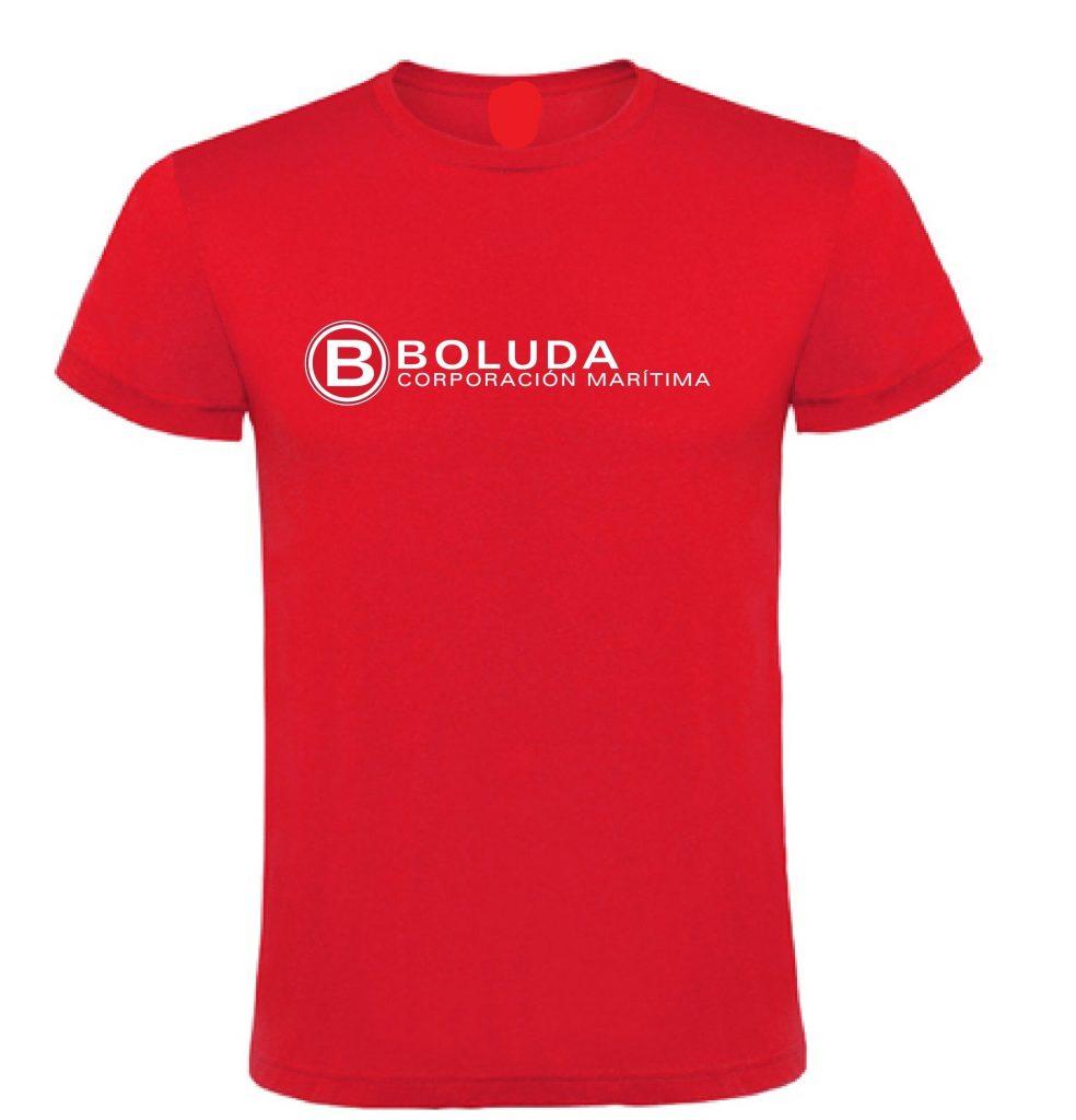 Camiseta de algodón y poliéster, personalizada con serigrafía especial para prendas textiles, diseñada para regalos de empresa
