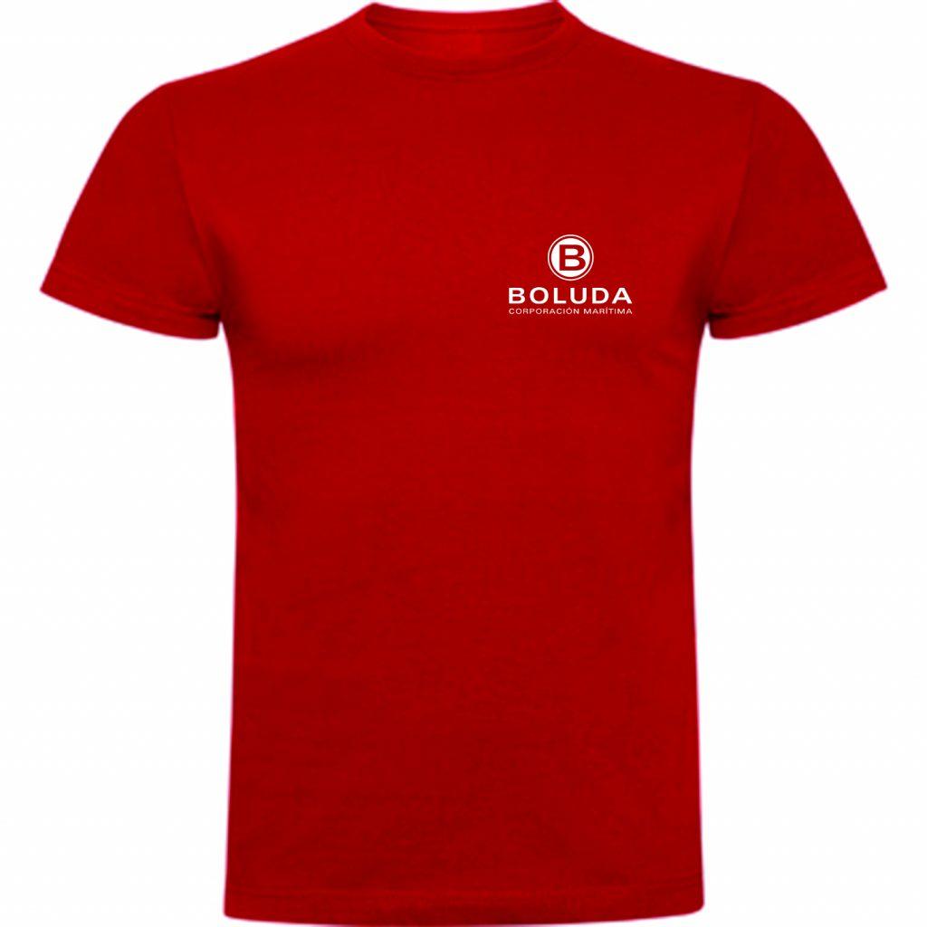 Camiseta en poliester y viscosa, especial para indumentaria corporativa y para regalos de empresa