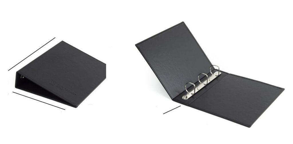 Carpeta directorio para hoteles y restaurantes, elaboradas en piel natural y polipiel, fabricadas en España (Made in Spain) y personalizadas  con la imagen corporativa mediante la técnica de termograbado