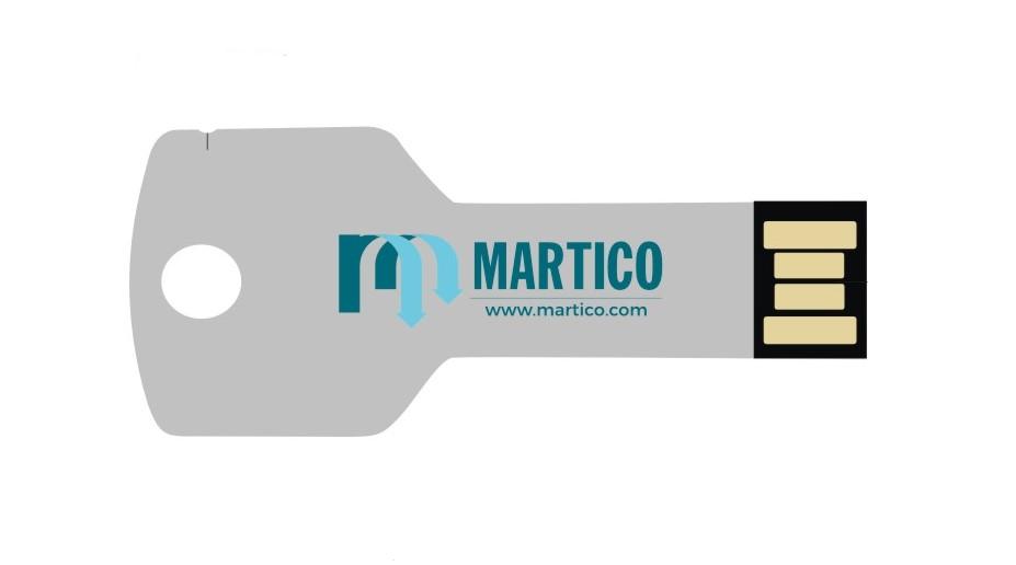 Memoria USB de 16 GB, con un procesador 3.0 y carcasa metálica ideal para cualquier tipo de personalización corporativa para regalo de empresa